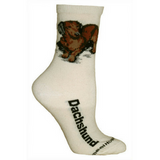 Natural Dachshund Lover Socks