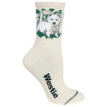 Natural Westie Lover Socks