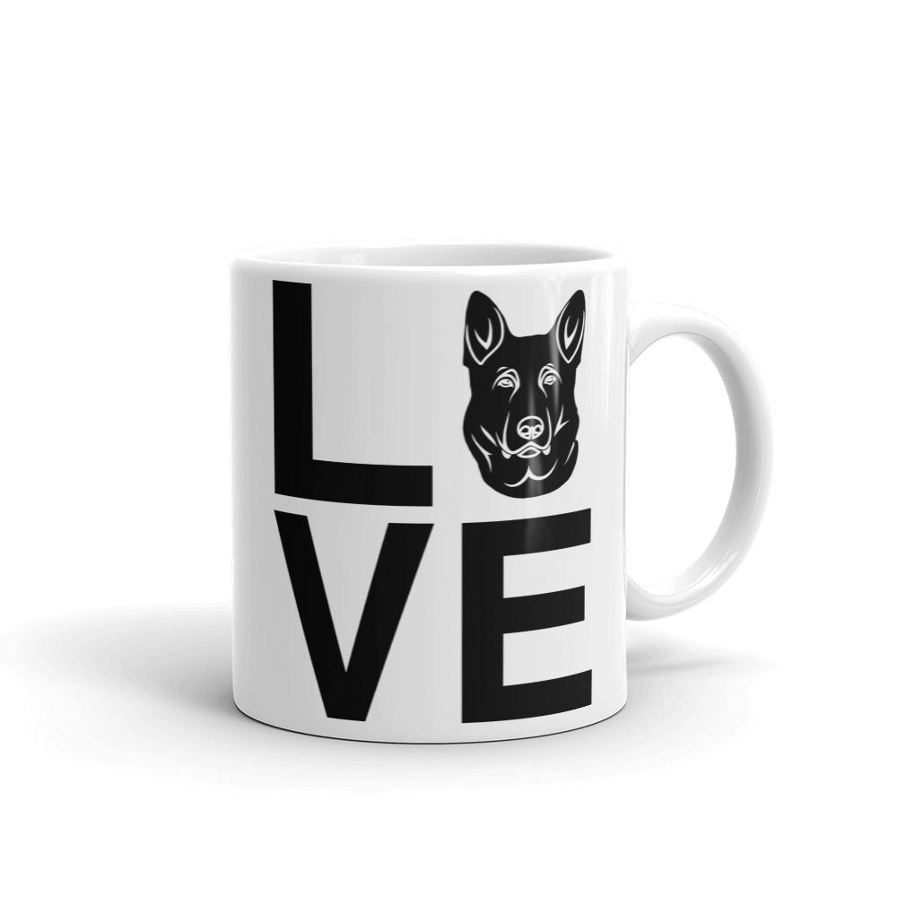 German Shepherd Dog Love Mug
