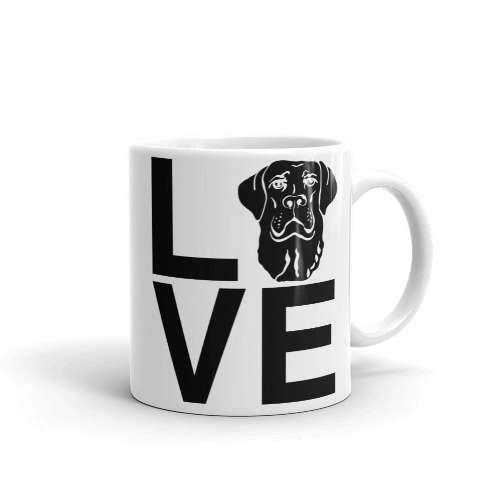 Black Lab Love Mug