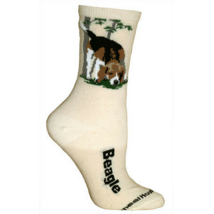 Natural Beagle Lover Socks