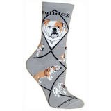 Classic Bulldog Lover Socks