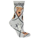 Classic Airedale Terrier Lover Socks