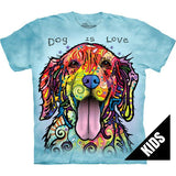 Kids Dog Is Love Tee