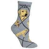 Classic Yellow Lab Lover Socks