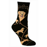 Classic Golden Retriever Lover Socks
