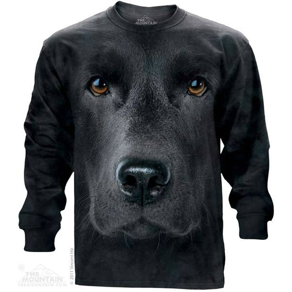 Big Lab Face Long Sleeve Tee