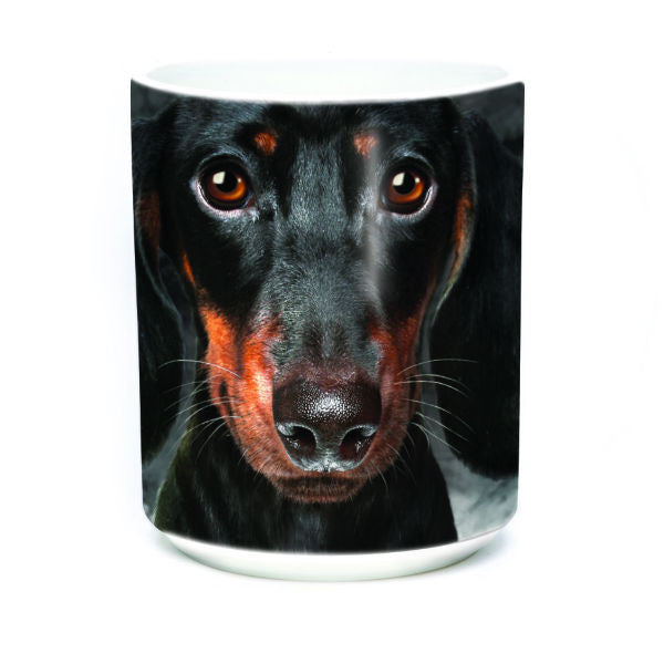 Big Dachshund Face Mug