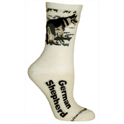 Natural German Shepherd Dog Lover Socks
