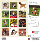 Boxer Puppies 2020 Wall Calendar