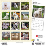 West Highland White Terriers 2020 Wall Calendar