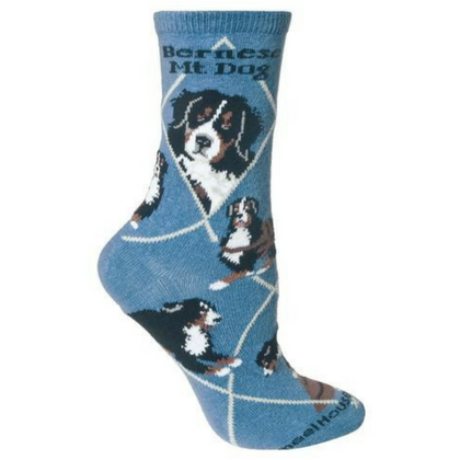 Classic Bernese Mountain Dog Lover Socks