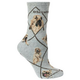 Classic Bloodhound Lover Socks