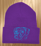 Boxer Knit Ski Hat