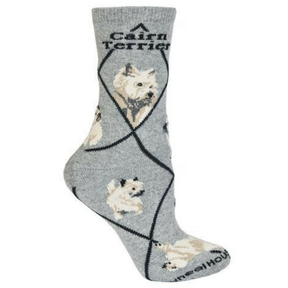 Classic Cairn Terrier Lover Socks