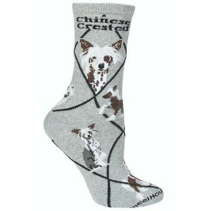 Classic Chinese Crested Lover Socks