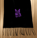 German Shepherd Ski Scarf