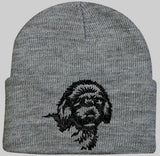 Goldendoodle Knit Ski Hat