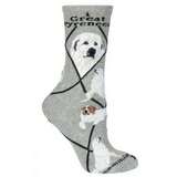 Classic Great Pyrenees Lover Socks