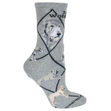 Classic Irish Wolfhound Lover Socks