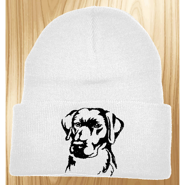 Labrador Retriever Knit Ski Hat