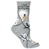 Classic Old English Sheepdog Lover Socks