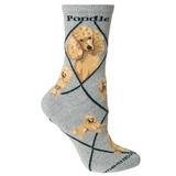 Classic Poodle Lover Socks