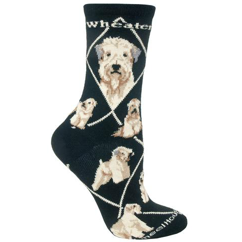 Classic Wheaten Terrier Lover Socks