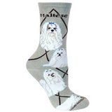 Classic Maltese Lover Socks