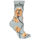 Classic Cocker Spaniel Lover Socks