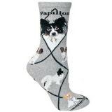 Classic Papillon Lover Socks
