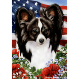 Tamara Burnett Patriotic Papillon Flag