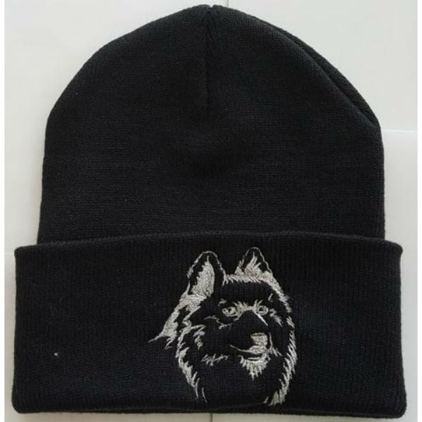 Samoyed Knit Ski Hat