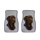 Lab Car Mats (Set of 2)