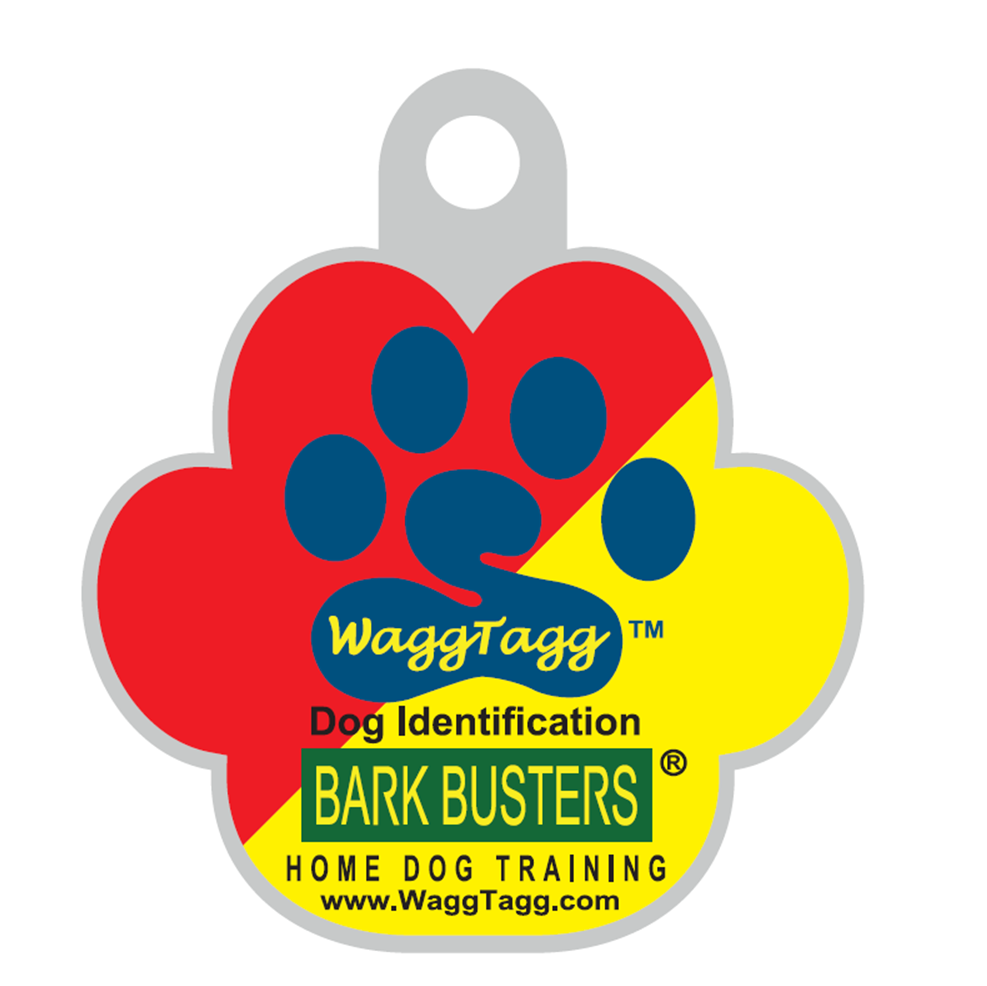 WaggTagg Pet ID Tag