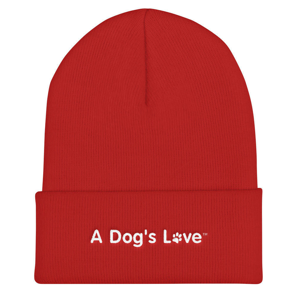 A Dog's Love Knit Ski Hat