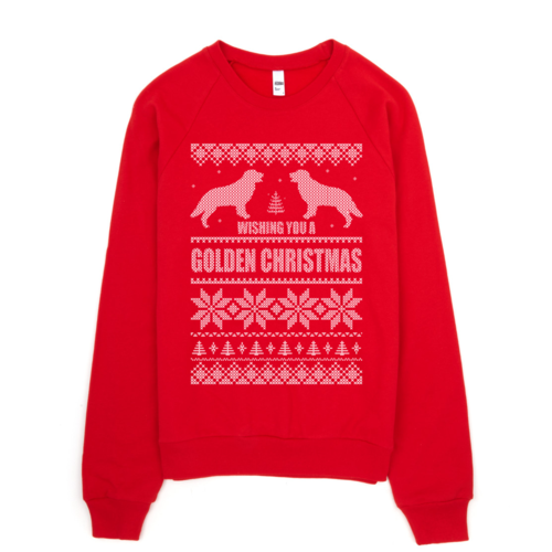 Golden Christmas Sweatshirt