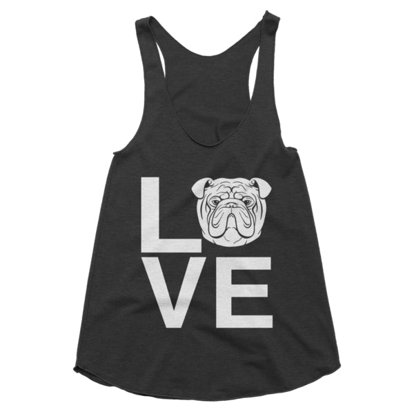 Ladies' Bulldog Love Tank