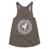 Ladies' Don't Shop Adopt Tank