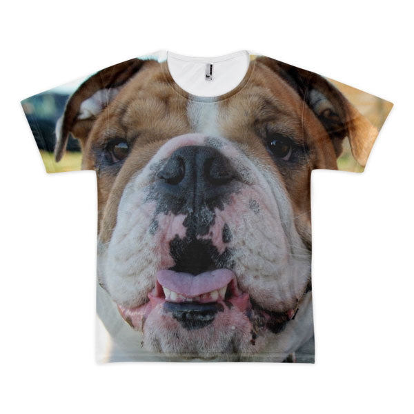 Custom Dog Photo Tee