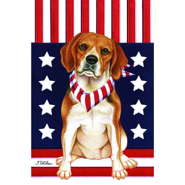 USA Beagle Flag