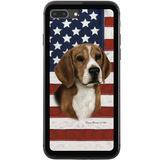 Patriotic Beagle Phone Case