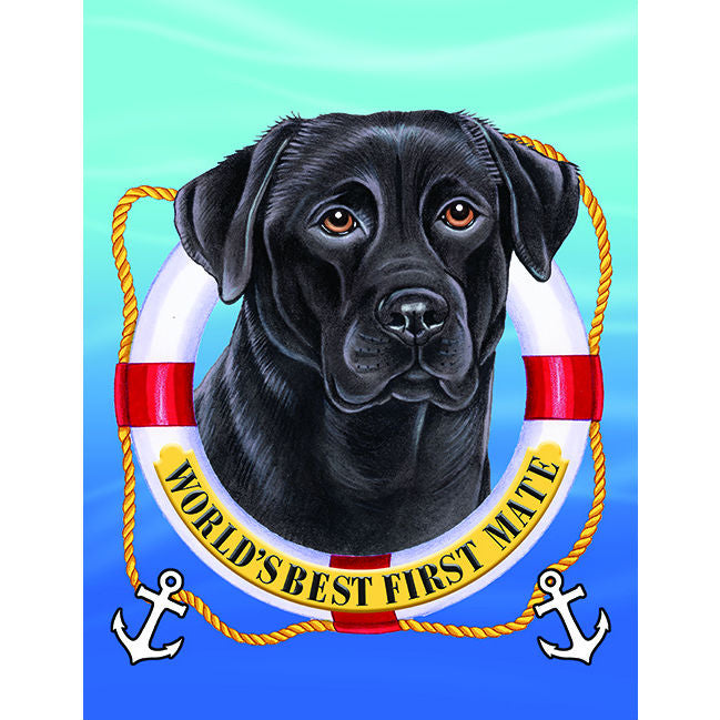 First Mate Flag - Labrador Retriever