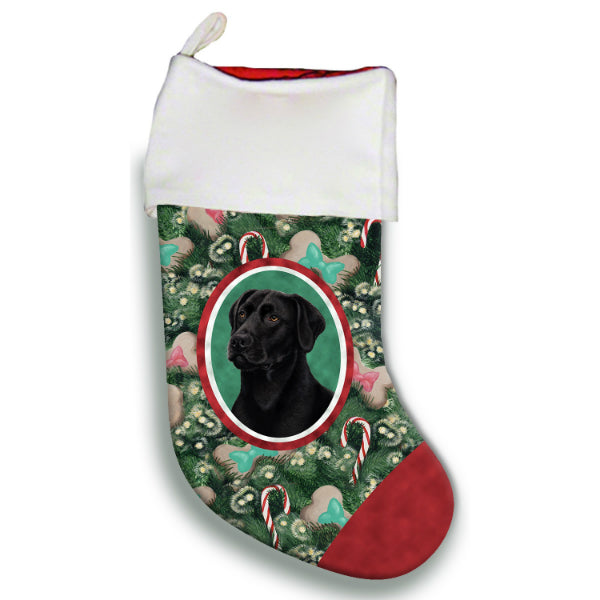 Lab Christmas Stocking