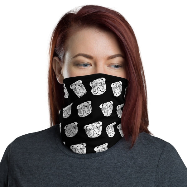 Bulldog Neck Gaiter Face Covering
