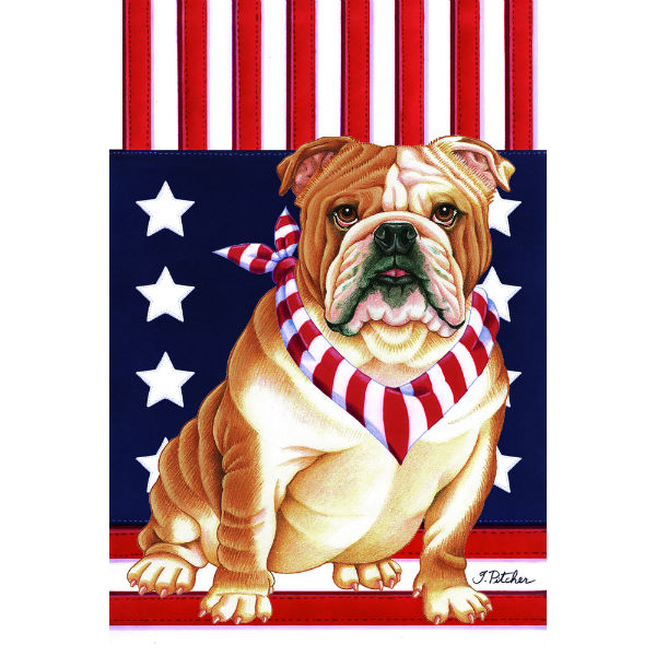 USA Bulldog Flag