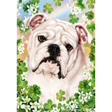 Tamara Burnett St. Patrick's Day Bulldog Flag