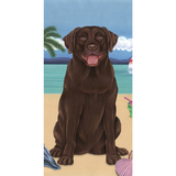 Summer Lab Beach Towel