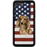 Patriotic Dachshund Phone Case