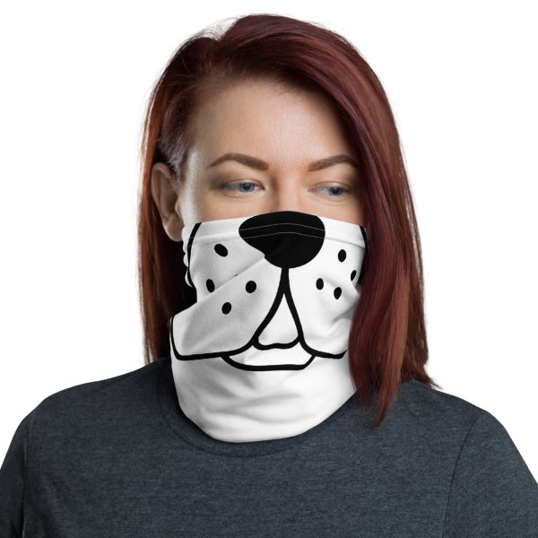 Puppy Face Neck Gaiter Face Covering